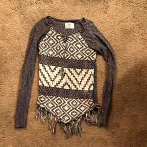 Justice girl's size 12 sweater